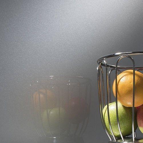 kit tableau aimant en verre gris paillet format rond. Black Bedroom Furniture Sets. Home Design Ideas