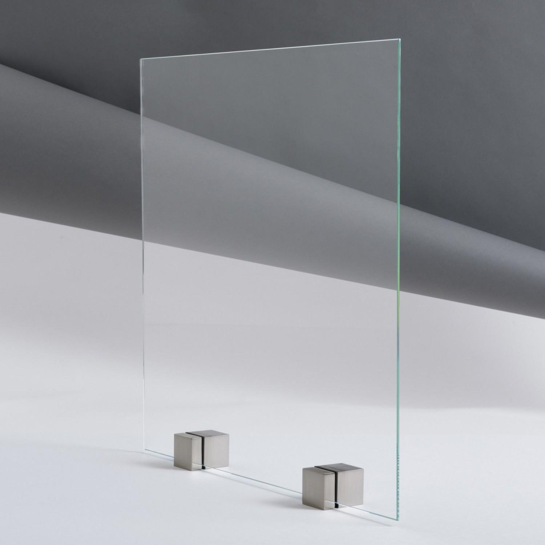 fond de hotte verre trempé extraclair épaisseur 6 mm À