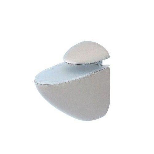 kit tablette en verre tremp laqu blanc avec 2 supports r glables. Black Bedroom Furniture Sets. Home Design Ideas