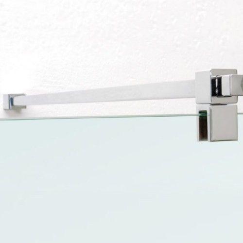kit paroi de douche en verre tremp clair avec. Black Bedroom Furniture Sets. Home Design Ideas