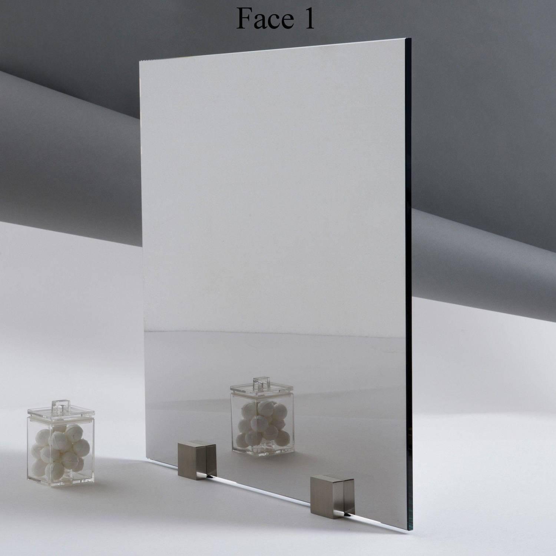 Miroir sans tain espion paisseur 8 mm for Verre miroir sans tain