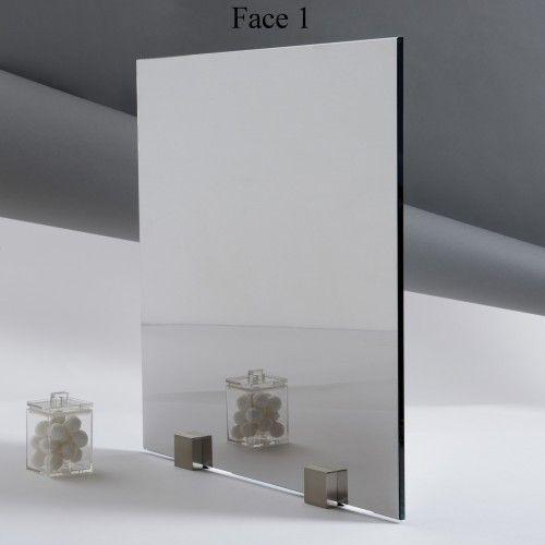 Miroir extra clair paisseur 6 mm for Verre miroir sans tain
