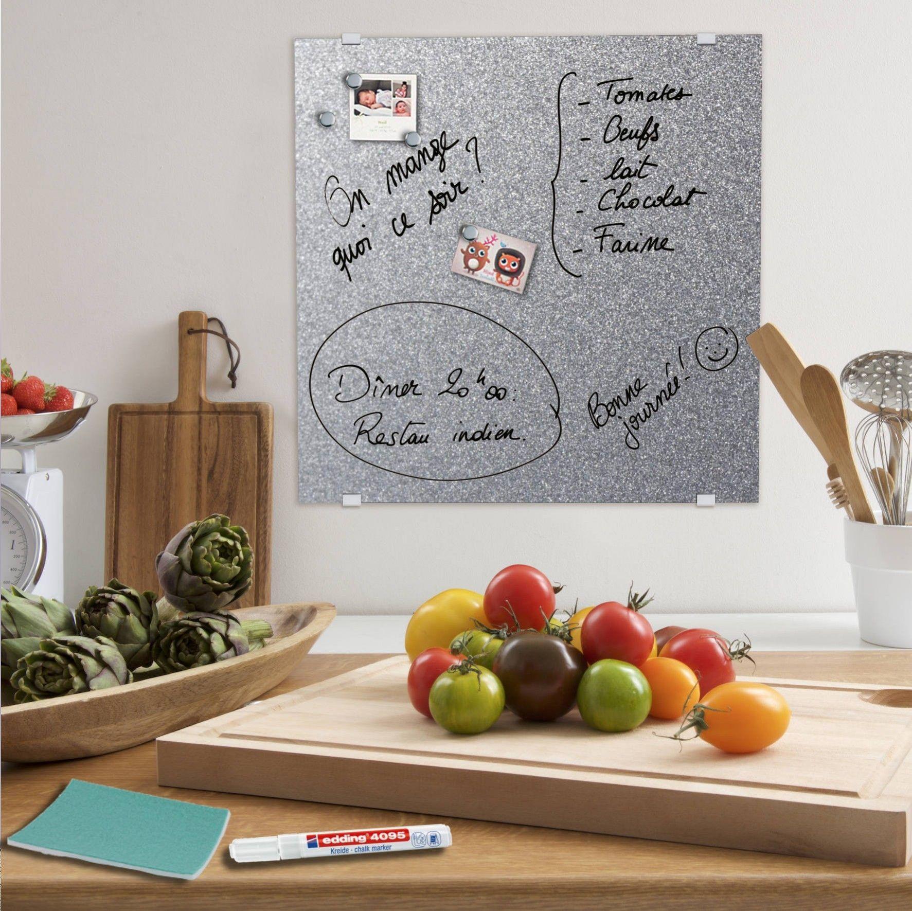 feutre blanc pour tableau en verre. Black Bedroom Furniture Sets. Home Design Ideas