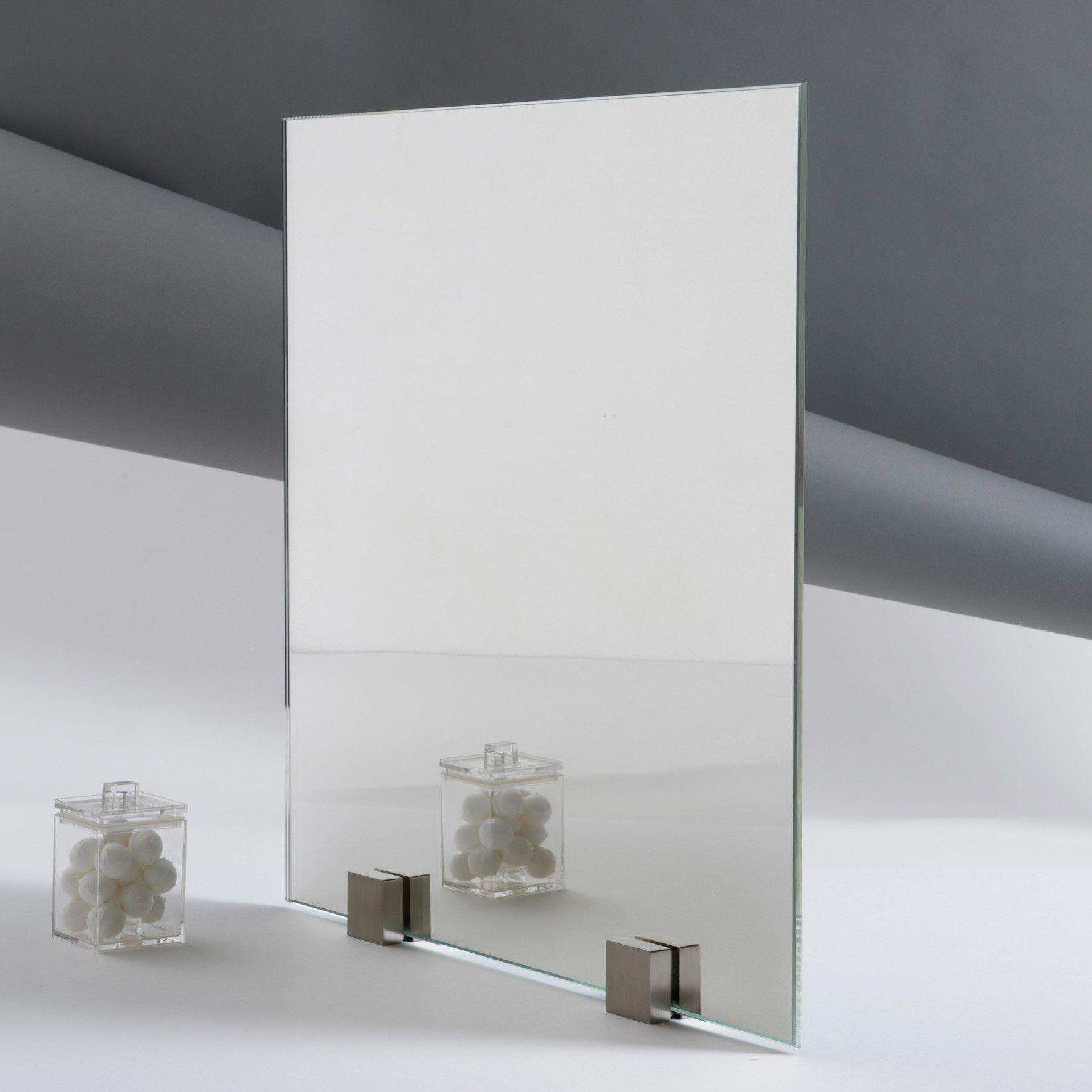 Miroir vieilli paisseur 4 mm for Verre miroir sans tain