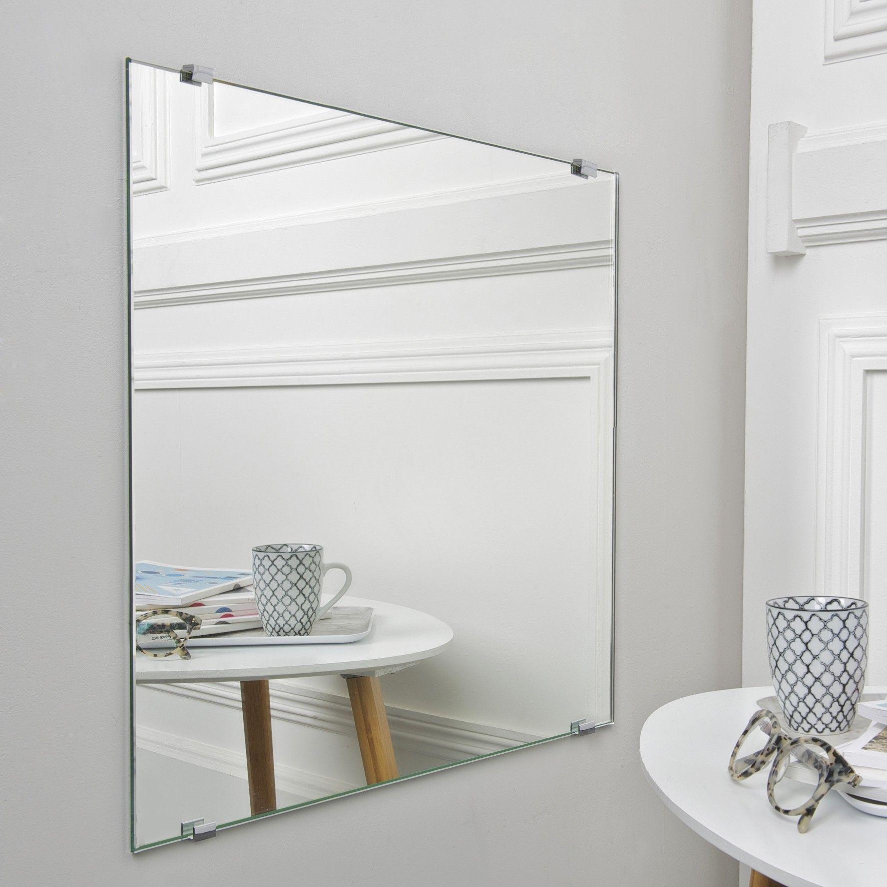 Miroir sans tain espion paisseur 6 mm for Verre miroir sans tain