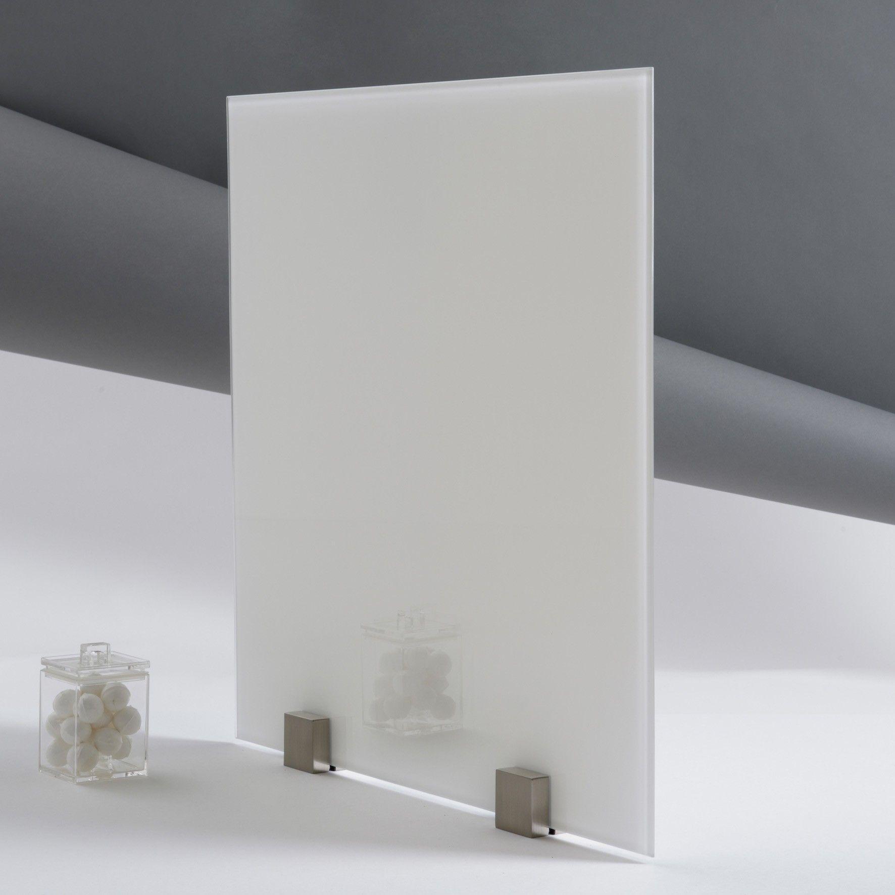 Verre tremp laqu noir paisseur 6 mm for Credence verre trempe noir