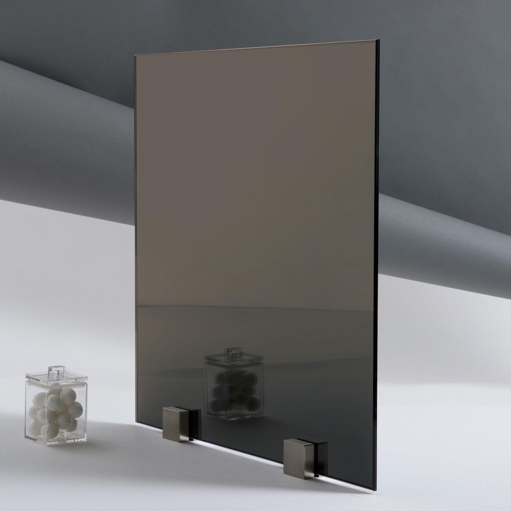Miroir sans tain espion paisseur 6 mm for Miroir et verre concept