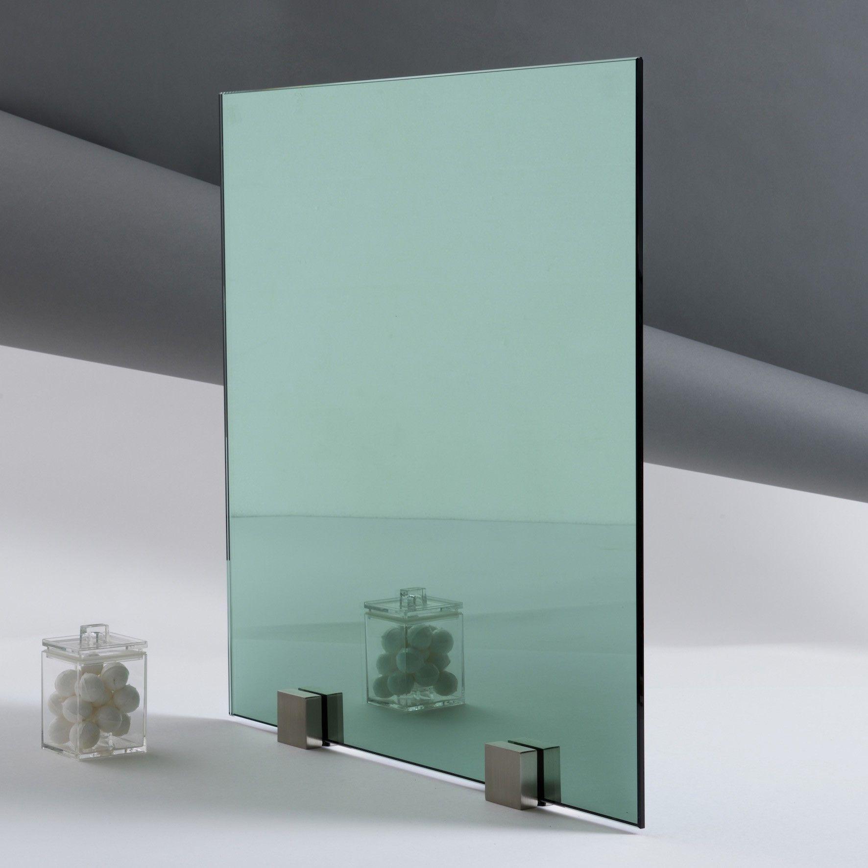 Miroir de couleur gris paisseur 6 mm for Miroir et verre concept